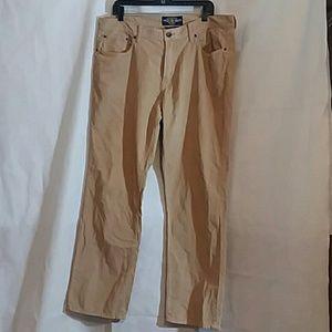 Lucky Brand 221 Original Straight Corduroy Jeans